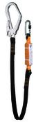 Longe antichute 1 connecteur à vis long.1,50m - Tuyau droit émaillé noir mat diam.130mm long.50cm - Gedimat.fr