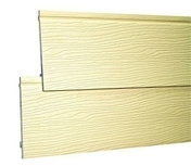 Bardage PVC cellulaire original à recouvrement 18 x 167 mm utile (210 mm hors tout) Long.4 m Sable - Clins - Bardages - Couverture & Bardage - GEDIMAT