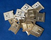 Clips inox pour lambris PVC - sachet de 100 pièces - Mamelon laiton 245 réduit mâle diam.20x27mm mâle diam.15x21mm en vrac - Gedimat.fr