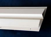 Petite finition pour lambris PVC blanc long.4m - Accessoires de fixation - Couverture & Bardage - GEDIMAT