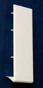 Cache-joint pour planche de rive PVC RIVECEL haut.30cm blanc - Rive ronde individuelle droite à emboîtement PLEIN SUD/MEDIANE coloris emporda - Gedimat.fr