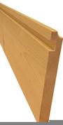 Planche de rive Sapin/Epicéa ép.21mm larg.17cm long.4,50m - Lambris Sapin du Nord Classic Naturel profil Elégie ép.12mm larg.135mm long.2,70m - Gedimat.fr