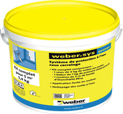 Protection à l'eau WEBER.SYS PROTEC kit de 5m² - Support piton mural seul - Gedimat.fr