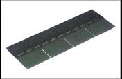 Bardoline Classic colis de 21 bandes surface utile 3,05m2 selon la pente vert - Contreplaqué rainuré 1 face tout Okoumé CTBX ép.15mm larg.1,207mm long.3,10m - Gedimat.fr
