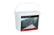 Kit TILE LEVEL - Bloc-porte ESCALE isolante huisserie 88mm haut.2,04m larg.83cm poussant droit - Gedimat.fr