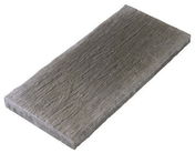 Dalle de cheminement pour terrasse ou piscine en pierre reconstituée ARDOISIERE larg.40cm long.80cm coloris anthracite - Poutre en béton précontrainte PSS LEADER section 20x20cm long.4,00m - Gedimat.fr