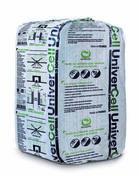 Ouate de cellulose UNIVERCELL en vrac sac de 12,5kg avec sel de bore - Kit profilés latéraux traverse basse MK04 - Gedimat.fr