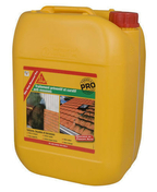 Traitement anti-mousse SIKA STOP MOUSSE PRO bidon de 20L - Enduit de parement traditionnel PARDECO TYROLIEN sac de 25kg coloris R56 - Gedimat.fr