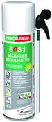 Mousse polyuréthane expansive sans isocyanates 6031 bombe de 500ml - Demi-tuile de rive gauche SIGNY coloris rouge naturel - Gedimat.fr