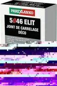 Joint de carrelage déco 1 à 6mm 5046 ELIT seau de 5kg coloris noir - Joint de carrelage PROLIJOINT SOL 542 sac de 5kg coloris gris - Gedimat.fr