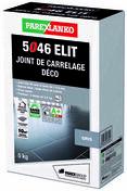 Joint de carrelage déco 1 à 6mm 5046 ELIT seau de 5kg coloris gris - Peinture acrylique TABLEAU sans sous-couche bidon de 0,5 litre coloris noir - Gedimat.fr