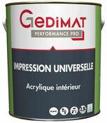 Impression universelle 2,5 L GEDIMAT PERFORMANCE PRO - Peintures sous-couches - Peinture & Droguerie - GEDIMAT