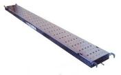 Plancher en acier galva EDA3000 larg.30cm long.3,00m - Tuile châtière ROMANE SANS + grille coloris rose Flammé - Gedimat.fr