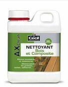 Nettoyant bois composite AX CLEAN 1L - Produits d'entretien - Nettoyants - Outillage - GEDIMAT