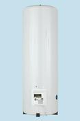 Chauffe-eau vertical mural ACI Hybride SAUTER 300 L - Décor DEC pour mur en faïence mate RIVERSIDE larg.20cm long.60cm coloris G-gris - Gedimat.fr