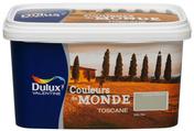 Peinture acrylique murale COULEUR DU MONDE aspect satiné pot de 2,5L coloris Toscane expression - Peintures - Peinture & Droguerie - GEDIMAT