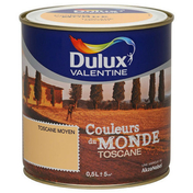 Peinture acrylique murale COULEUR DU MONDE aspect satiné pot de 500ml coloris Toscane expression - Gaine souple PVC gris diam.125mm long.6m - Gedimat.fr