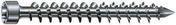 Vis Wirox anticorrosion tête ronde Spax 6x140mm boîte de 100 pièces - Clouterie - Visserie - Quincaillerie - GEDIMAT