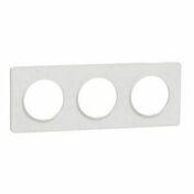 Plaque de finition triple horizontale pour appareillage encastré à composer Odace Touch blanc-liseré blanc - Poutrelle treillis RAID long.béton 10.30m pour portée libre 10.25m - Gedimat.fr
