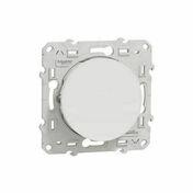 Poussoir encastré à composer commande simple Odace à vis 10 ampères blanc - Interrupteurs - Prises - Electricité & Eclairage - GEDIMAT