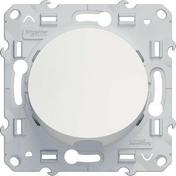 Sortie de câble encastré à composer à vis Odace blanc - Couvercle pour boîte d'encastrement carrée LEGRAND BATIBOX maçonnerie dim.80x80mm 1 poste blanc - Gedimat.fr