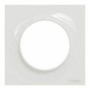 Plaque de finition simple pour appareillage encastré à composer Odace Styl blanc - Carrelage pour sol en grès cérame émaillé rectifié GENESIS LOFT dim.80x80cm coloris zinc - Gedimat.fr