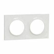 Plaque de finition double horizontale pour appareillage encastré à composer Odace Styl blanc - Poutre VULCAIN section 25x35 cm long.6,50m pour portée utile de 5,6 à 6,10m - Gedimat.fr