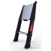 Echelle télescopique Pro Xline 12 marches larg.48cm haut.3,80 m - Couteau à enduire inox manche polypropylène 20mm - Gedimat.fr
