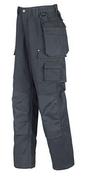 Pantalon de travail CARVER noir Profil T1 (40) - Carrelage pour sol intérieur BAYARD en grès cérame émaillé ép.9 mm dim.15x90 cm gris - Gedimat.fr