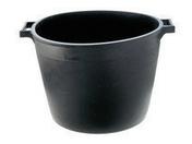 Auge à gravats plastique ronde capacité 40L coloris noir - Rondelle d'étanchéité feutre bitumé diam.20x6x4 - boite de 100 pièces - Gedimat.fr