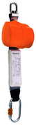 Enrouleur de sécurité câble acier boitier de protection ABS long.2m - Rallonges - Enrouleurs - Electricité & Eclairage - GEDIMAT