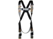 Harnais de sécurité avec anneaux antichute dorsal et frontaux taille unique - Set accessoires 3 pièces ZEN céramique - Gedimat.fr