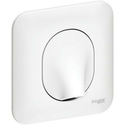 Sortie de câble encastrée mono référence Ovalis blanc - Interrupteur va et vient encastré mono référence commande simple Ovalis blanc - Gedimat.fr