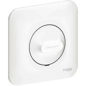 Variateur va et vient rotatif appareillage encastré mono référence Ovalis charges 9-100 W - Interrupteurs - Prises - Electricité & Eclairage - GEDIMAT