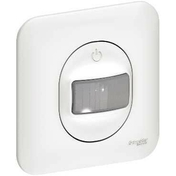 Détecteur de mouvement encastré mono référence 350W 2 fils Ovalis blanc - Automatismes - Electricité & Eclairage - GEDIMAT
