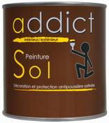 Peinture sol semi-brillante intérieur/extérieur 0,5L rouge brun - Doublage polyuréthane SIS AGRI GREEN long.2,50m ép.100mm - Gedimat.fr