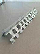 Profil d'angle extérieur perforé S15/10A PVC 1021 enduit 10mm - 3m - Habillages de façade - Matériaux & Construction - GEDIMAT