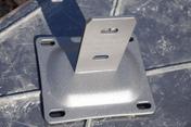 Platine galva pour poteaux ISIS graphite - Contreplaqué agencement tout peuplier ép.8mm larg.1,85m long.2,52m - Gedimat.fr