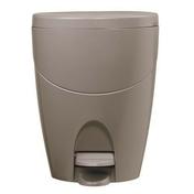 Poubelle WC COLOR LINE coloris taupe - Armoires de toilette et Accessoires - Salle de Bains & Sanitaire - GEDIMAT