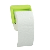 Dévidoir pour papier WC COLOR LINE finition vert anis - Abattants et Accessoires - Salle de Bains & Sanitaire - GEDIMAT
