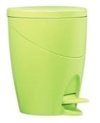 Poubelle WC COLOR LINE coloris vert anis - Armoires de toilette et Accessoires - Salle de Bains & Sanitaire - GEDIMAT