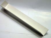 Angle extérieur pour planche de rive RIVECEL PVC haut.30cm blanc - Planches de rives - Sous-faces - Couverture & Bardage - GEDIMAT