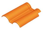 Double de rive avec clip ROMANE TBF coloris rouge - Ecrou 6 pans laiton à collet battu diam.12x17mm pour tube diam.10mm 1 pièce - Gedimat.fr
