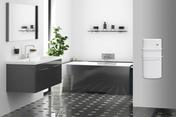 Radiateur sèche serviettes à soufflerie RHEA 1300W long.37cm haut.72cm prof.16,6cm blanc - Doublage isolant plâtre + polystyrène PREGYSTYRENE TH32 ép.13+130mm larg.1,20m long.2,60m - Gedimat.fr
