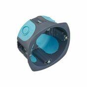 Boîte d'encastrement 1 poste pour cloison creuse Stop Air diam.67mm prof.40mm - Boîte de dérivation électrique à encastrer carrée LEGRAND BATIBOX pour cloison creuse dim.115x115mm prof.40mm. - Gedimat.fr