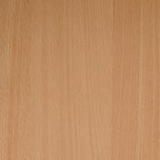 Tablette mélaminée ép.18mm larg.40cm long.0,80m Hêtre Magellan finition Velours bois poncé - Laque satinée glycéro intérieur/extérieur 2,5L blanc cassé - Gedimat.fr
