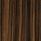 Feuille de stratifié HPL sans Overlay ép.0.8mm larg.1,30m long.3,05m décor Makassar finition Velours bois poncé - Panneaux stratifiés et décoratifs - Bois & Panneaux - GEDIMAT