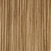 Feuille de stratifié HPL avec Overlay ép.0.8mm larg.1,30m long.3,05m décor Zébrano clair finition Velours bois poncé - Plaque simple CASUAL chocolat mat - Gedimat.fr