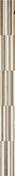 Listel carrelage pour mur en faïence SOHO larg.3,8cm long.70cm coloris arena - Carrelages murs - Cuisine - GEDIMAT