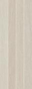 Décor Lineas carrelage pour mur en faïence SOHO larg.25cm long.70cm coloris arena - Carrelage pour mur en faïence SUITE larg.25cm long.40cm coloris marron - Gedimat.fr